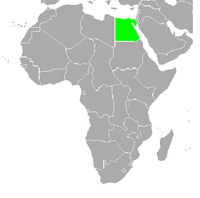 Localización de Egipto