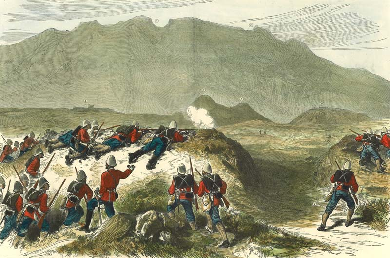 Great Britain (Washington Shot at Murdering Town!)