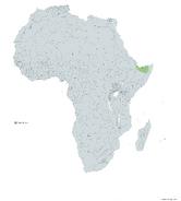 SOMALILANDIA MAPA 1993 LGMS