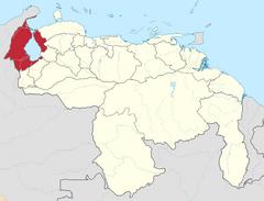 Ubicación de Estado Zulia (Chile No Socialista)