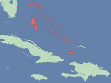 Location of Tropican Commonwealth of the Bahamas