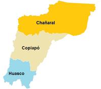 Provincias de la Region de Atacama (CNS).png