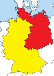 Location of Federal Republic of Germany