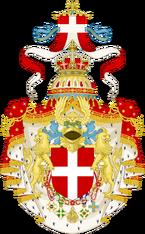 Герб Савойской Италии.png