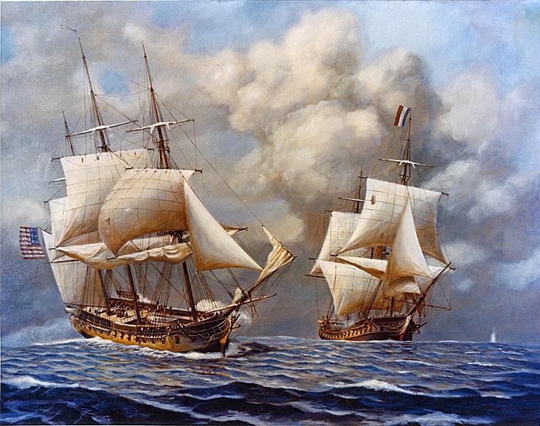 Американо-французская война (Орёл расправил крылья)