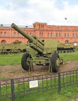 107 мм пушка-гаубица обр. 1932 г (МПБД)