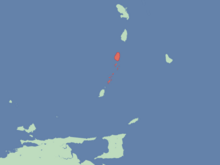 Location of Commonwealth of St Vincent and the Grenadines
