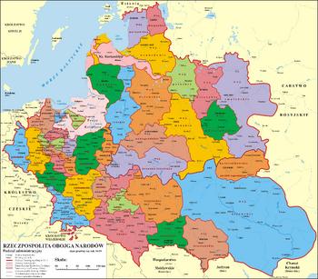 Polska 1600-2018