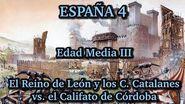 ESPAÑA 4 Edad Media (3ª parte) - El Reino de León vs