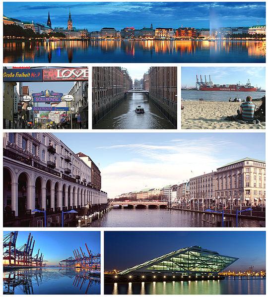Ciudad de Hamburgo (Gran Imperio Alemán)