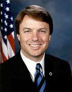 John Edwards official Senate photo portrait US