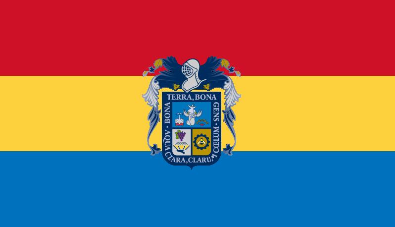 División Política de México (Gran Imperio Mexicano)