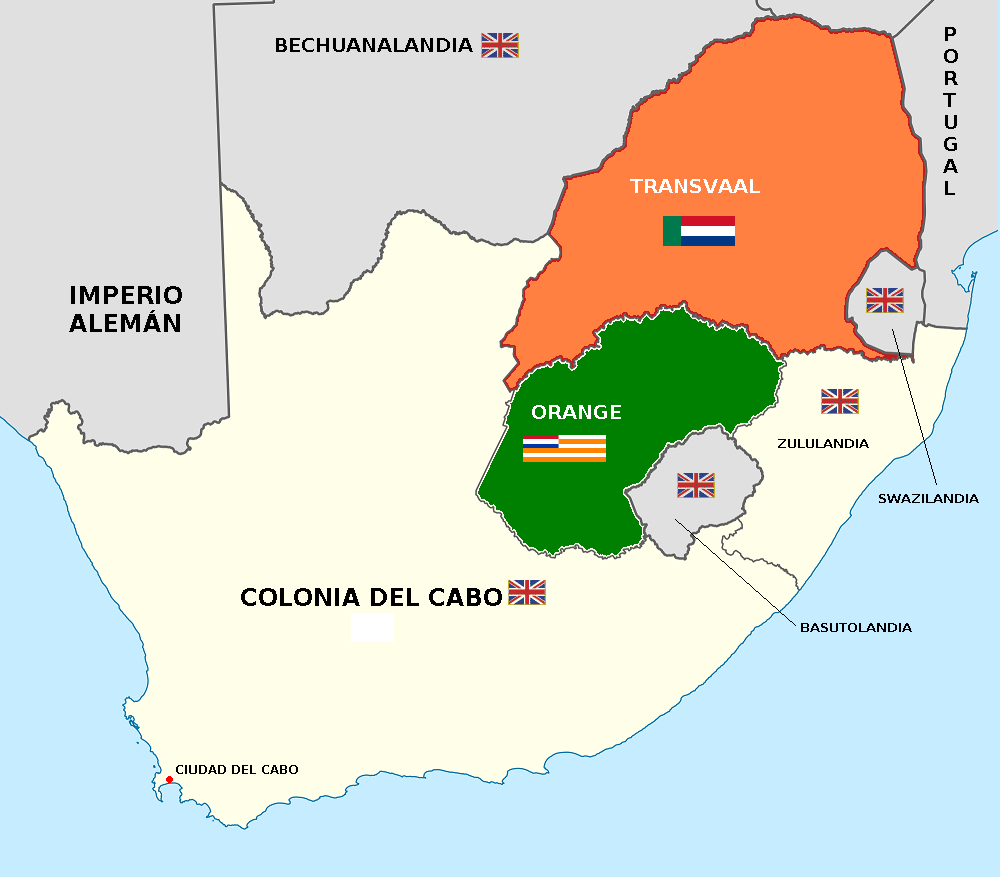 Unión Sudafricana (El funeral de Europa)