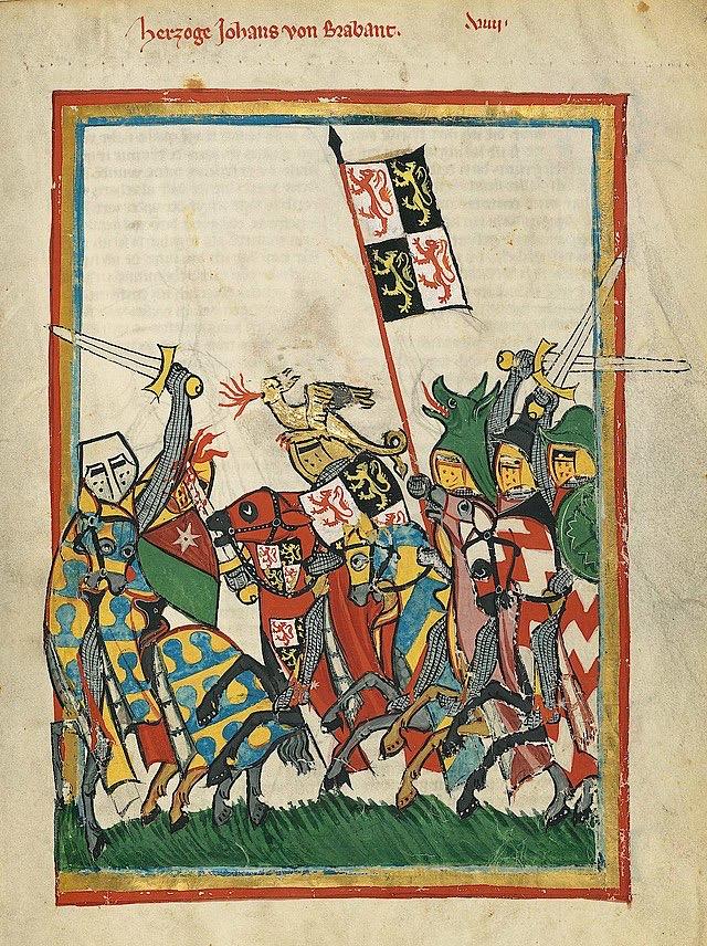 John I of Brabant (Merveilles du Monde Map Game)