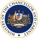 Seal of the Ministry of the Chancellor and Cabinet.png