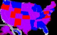 Map of Senators 1979