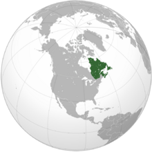 Location New France