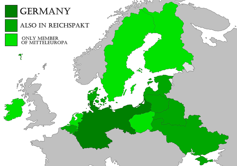 Liga de Mitteleuropa (Gran Imperio Alemán)