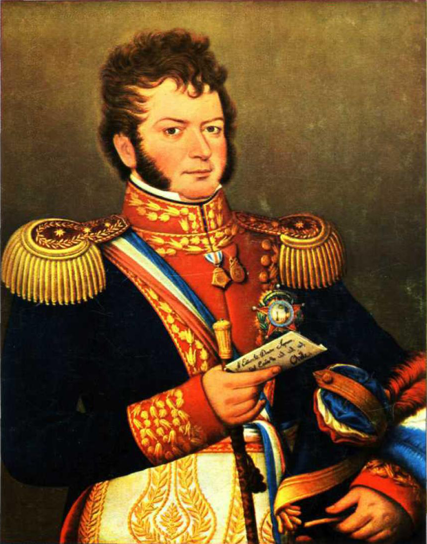 Bernardo O'Higgins (French Trafalgar, British Waterloo)