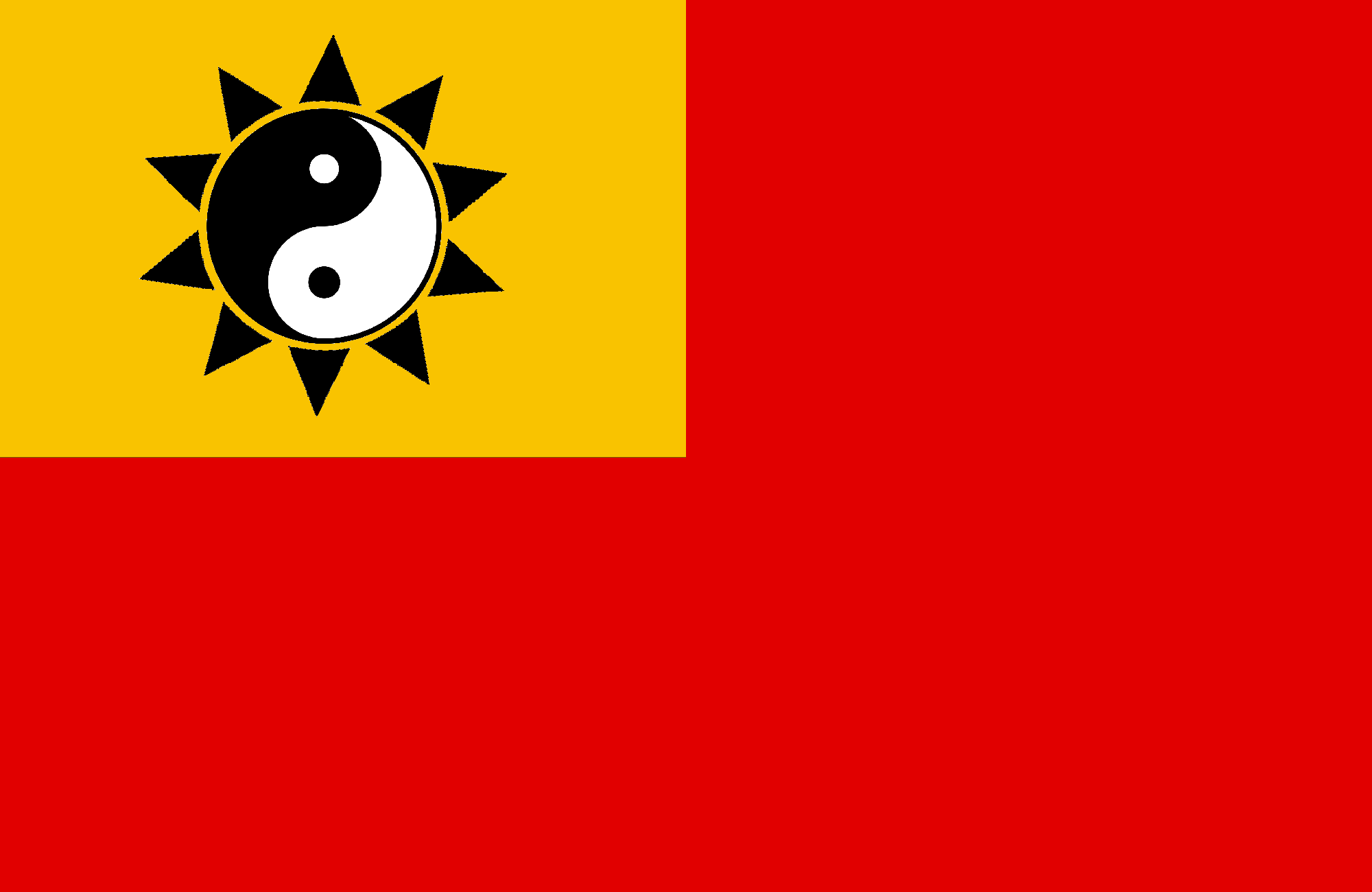 (China) Flag of the Empire of China.png