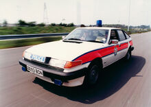 West Midlands Police Rover SD 1 Traffic Car c.1985.jpg