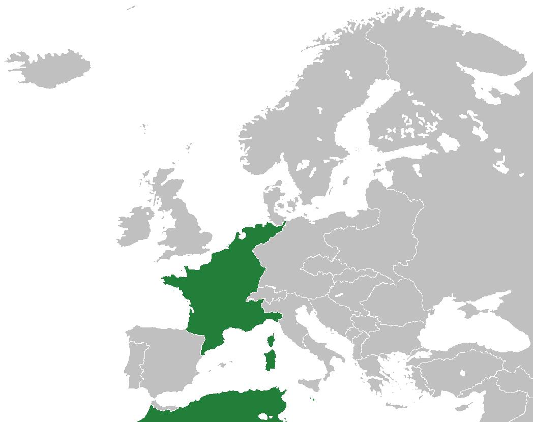 Французская империя (Pax Napoleonica)