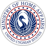 Seal of the Cygnian Ministry of Home Affairs