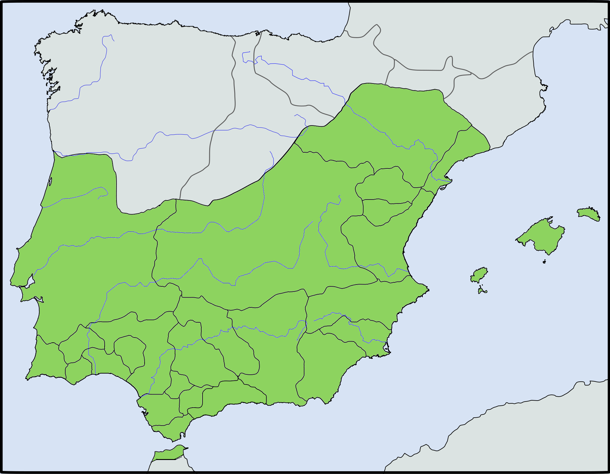 Kingdoms of Wandalus (Without Islam)