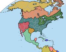 Location of Republic of California