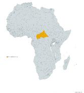 REPUBLICA CENTROAFRICANA MAPA 1993 LGMS