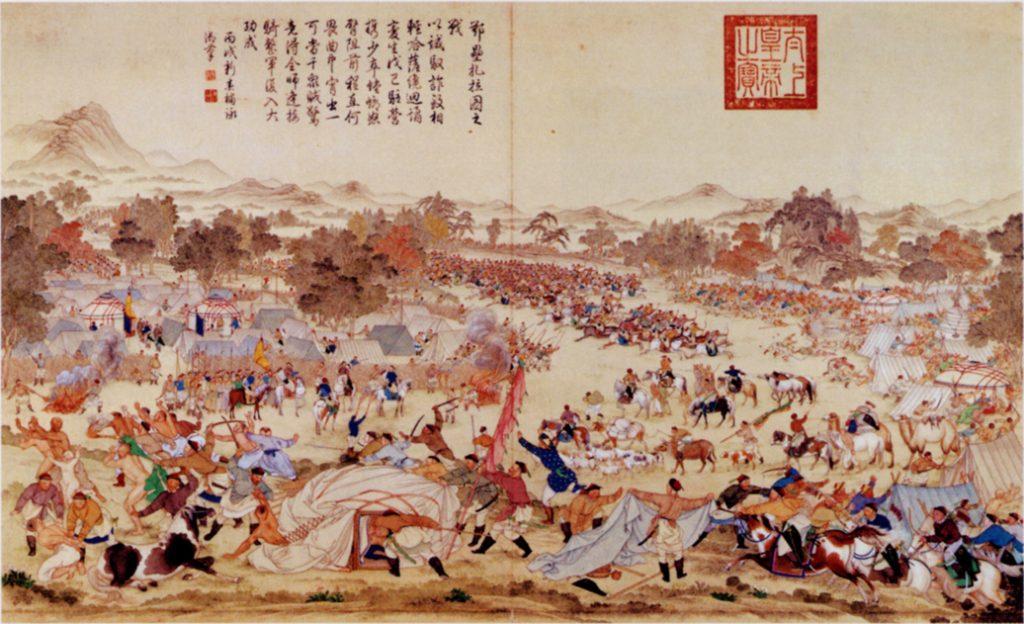 4th Sino-Mongolian War (Merveilles du Monde Map Game)