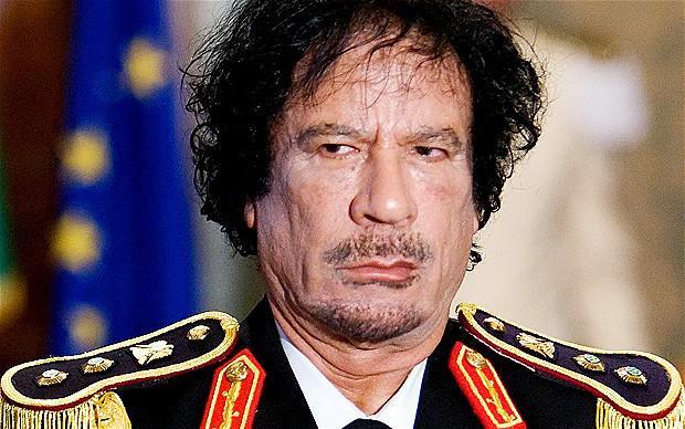 Muamar el Gadafi (Utopía Nazi)