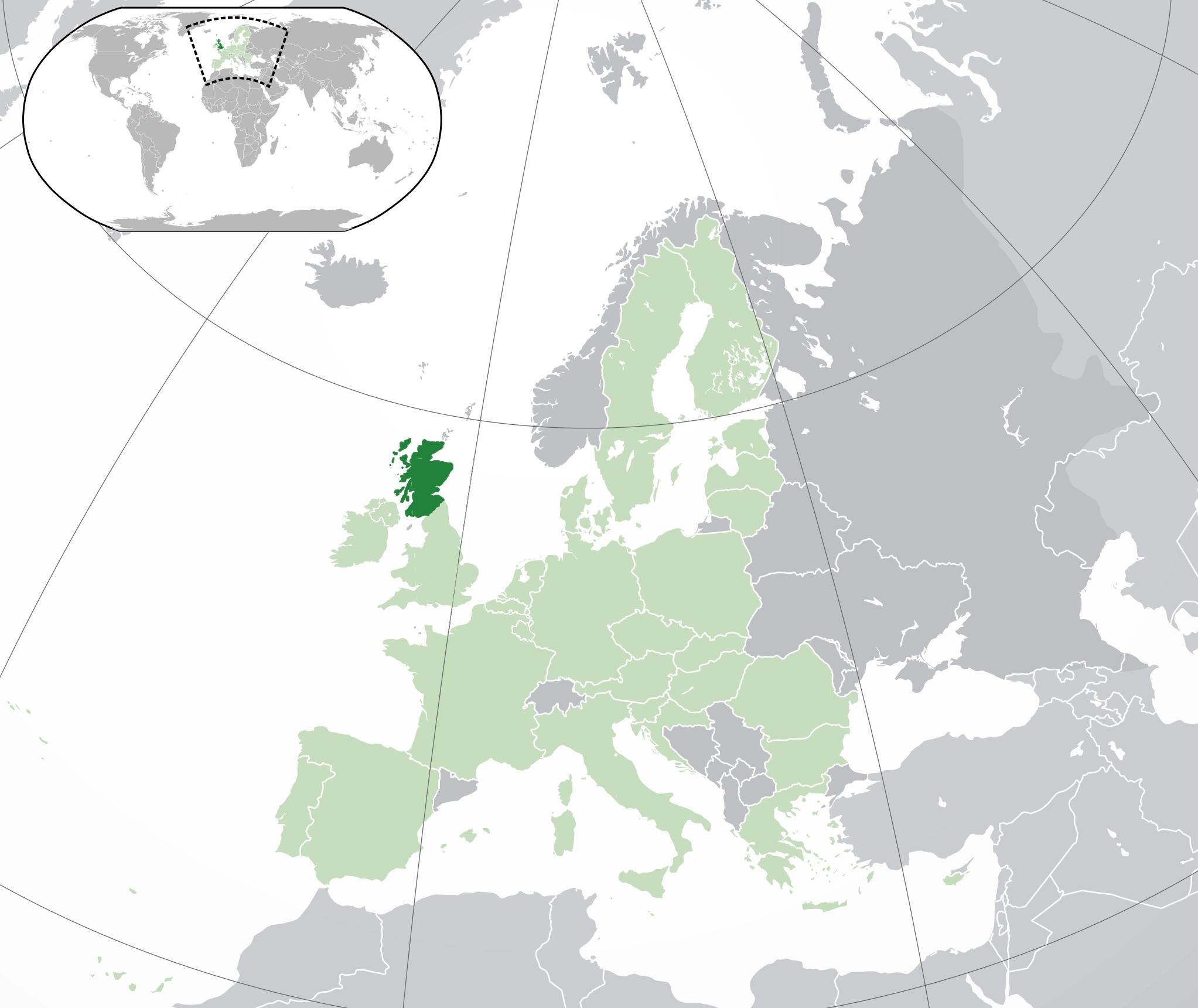 """England (Scotland says """"Yes"""")"""