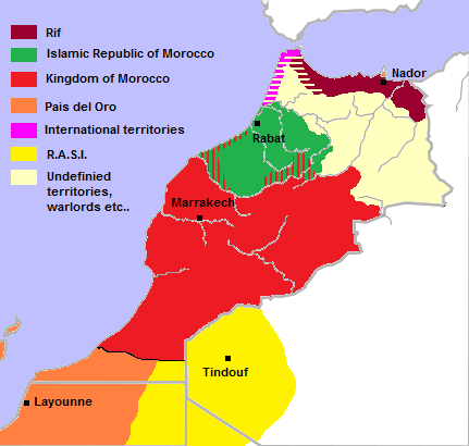 Kingdom of Morocco (1983: Doomsday)