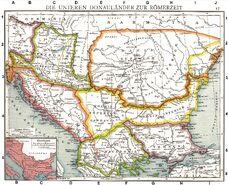 Roman provinces of Illyricum, Macedonia, Dacia, Moesia, Pannonia and Thracia