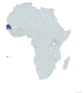 SENEGAL MAPA 1993 LGMS