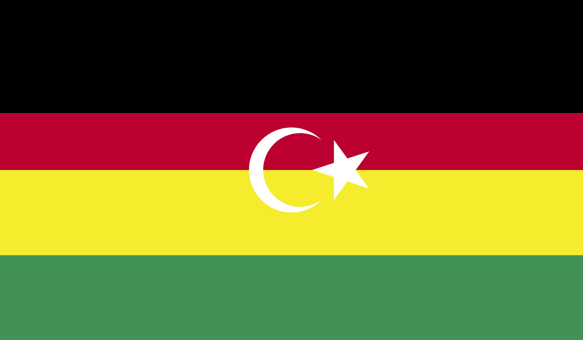 Flag of the Federated Union of North Africa.png