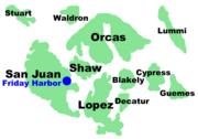 Location of San Juan