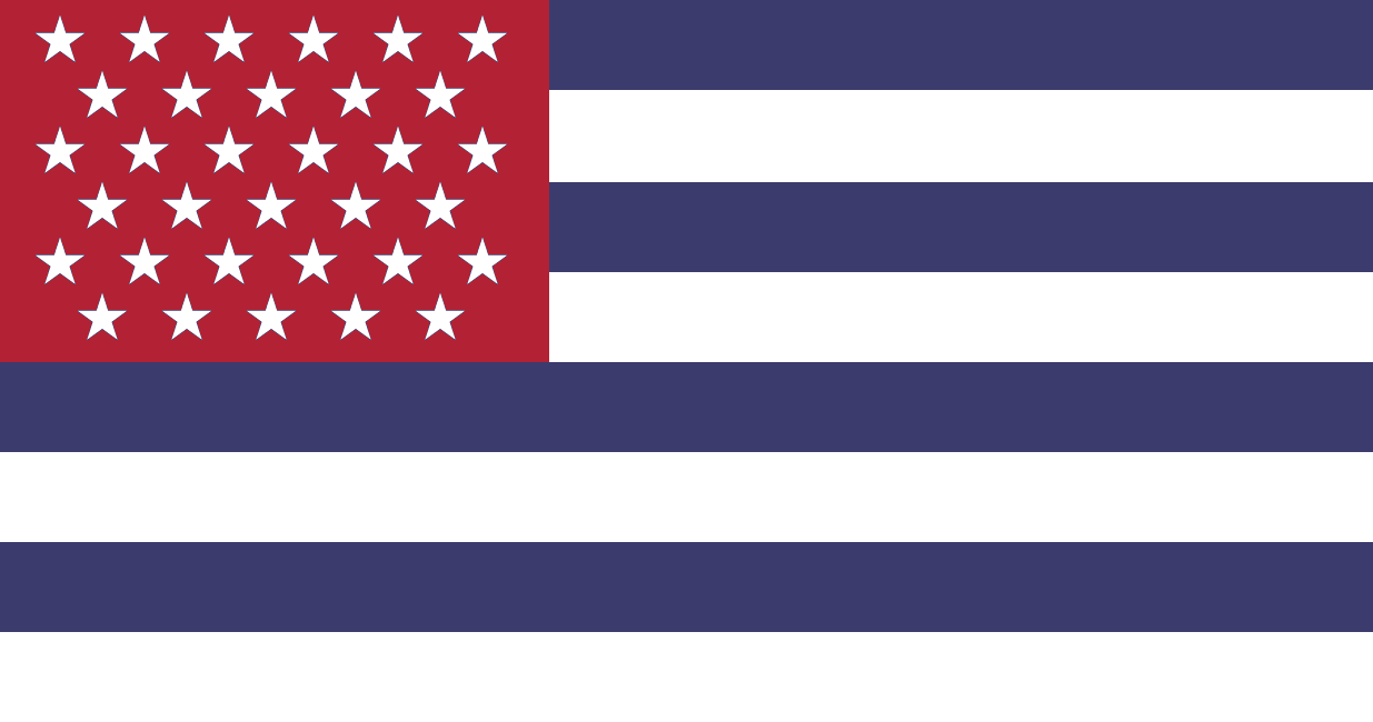Alternate US flag with 33 stars.png