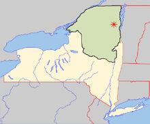 Location of Keene