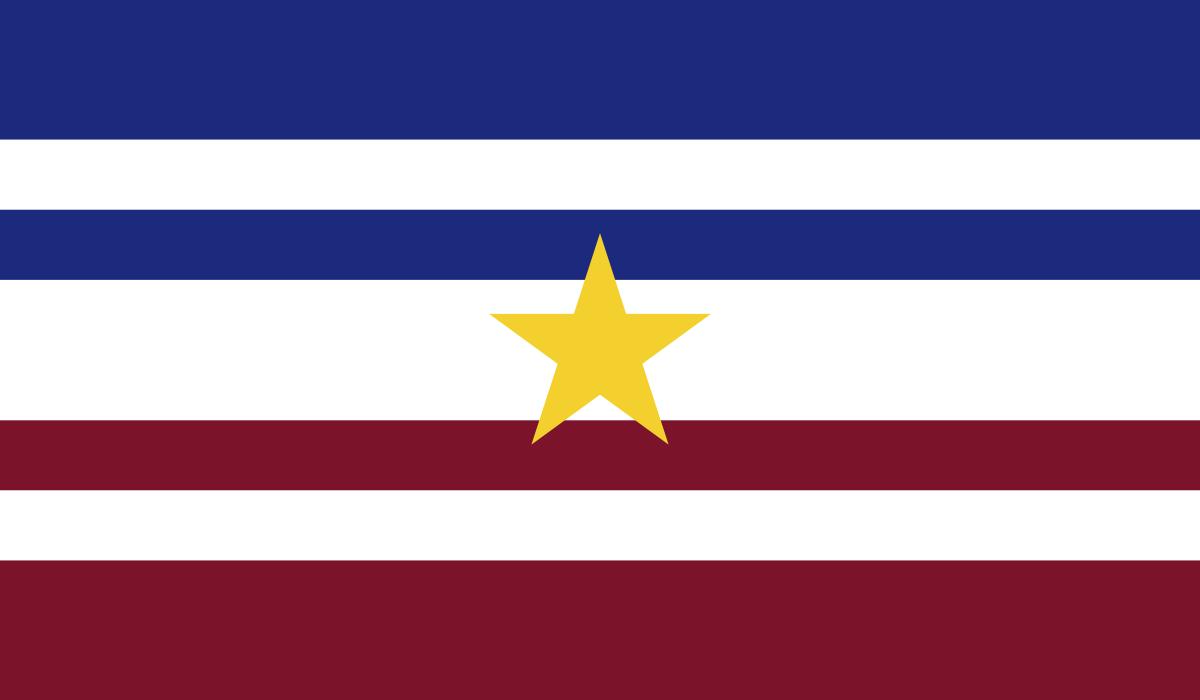 Flag of South France (Divided France).png