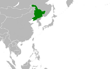 Location of State of Greater Manchuria