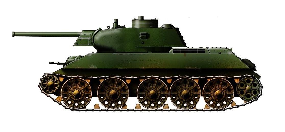 Средний танк Т-34 (МПБД)