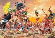 Tarascan-Xalisco War painting