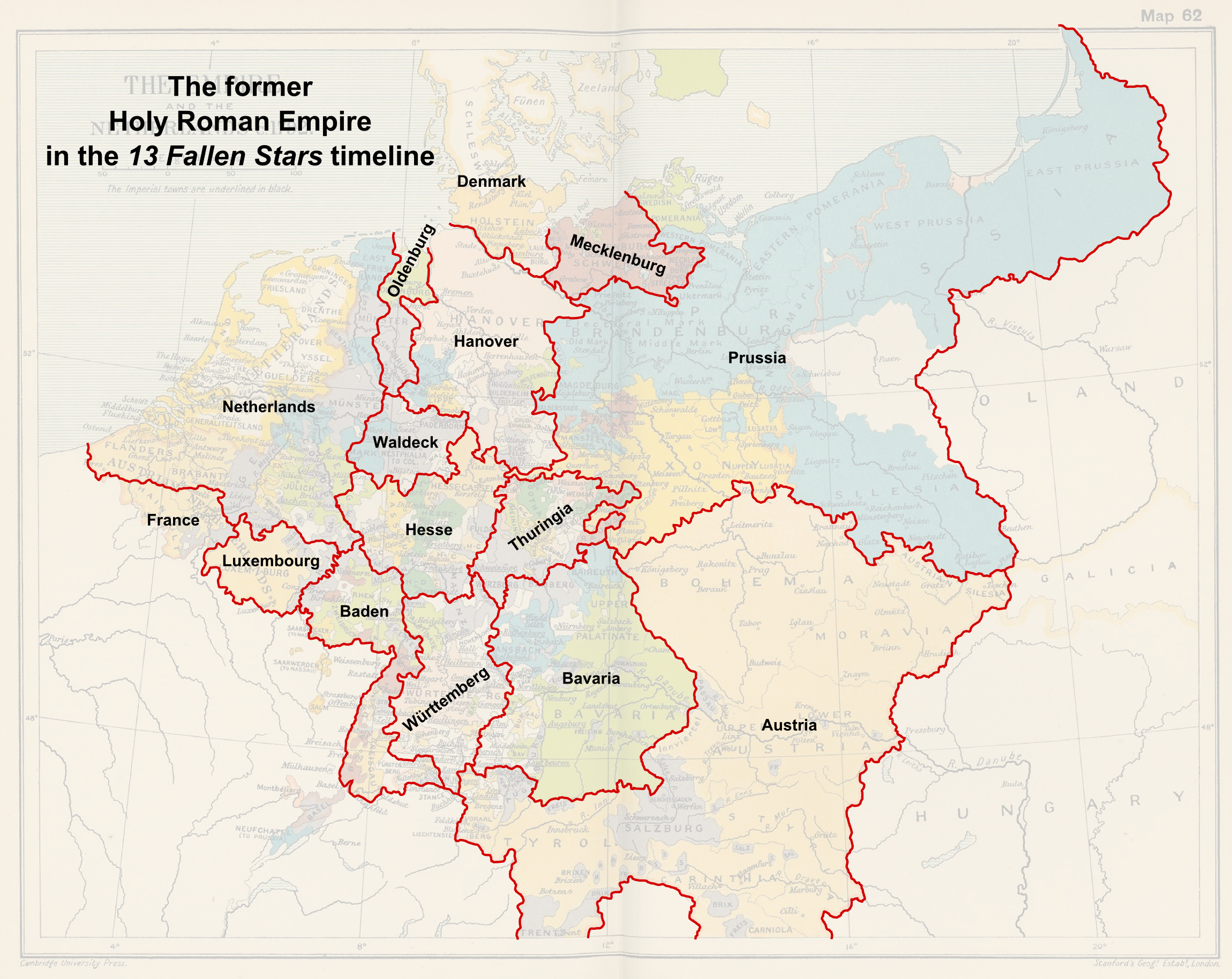 Map of the former Holy Roman Empire (13 Fallen Stars).png