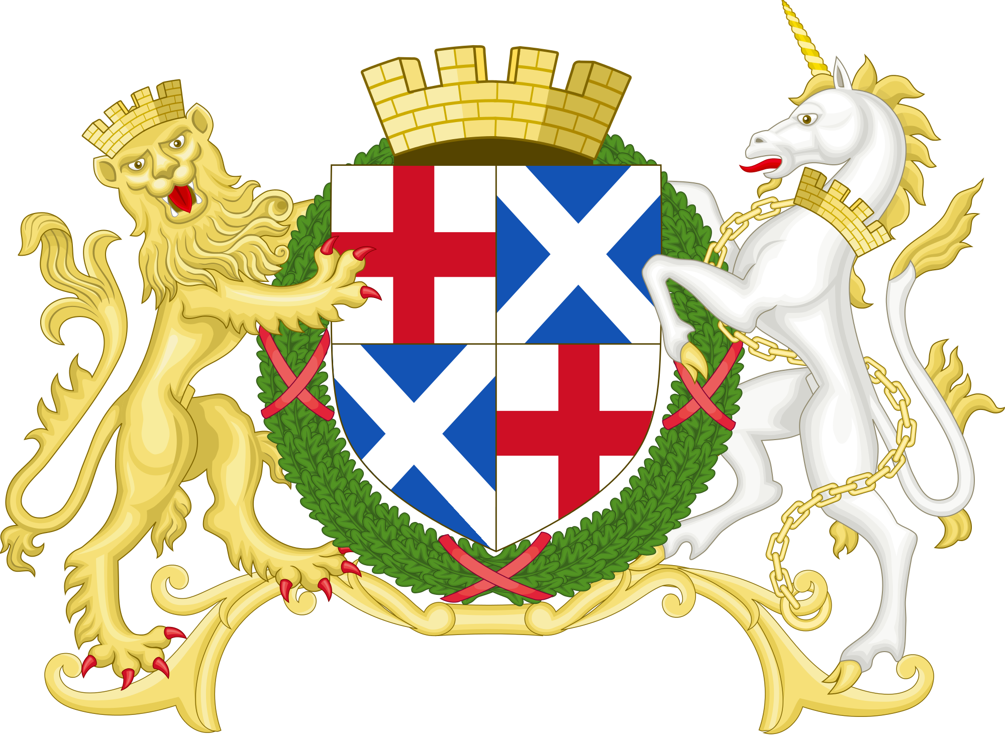 Coat of arms of the Commonwealth of Great Britain.png
