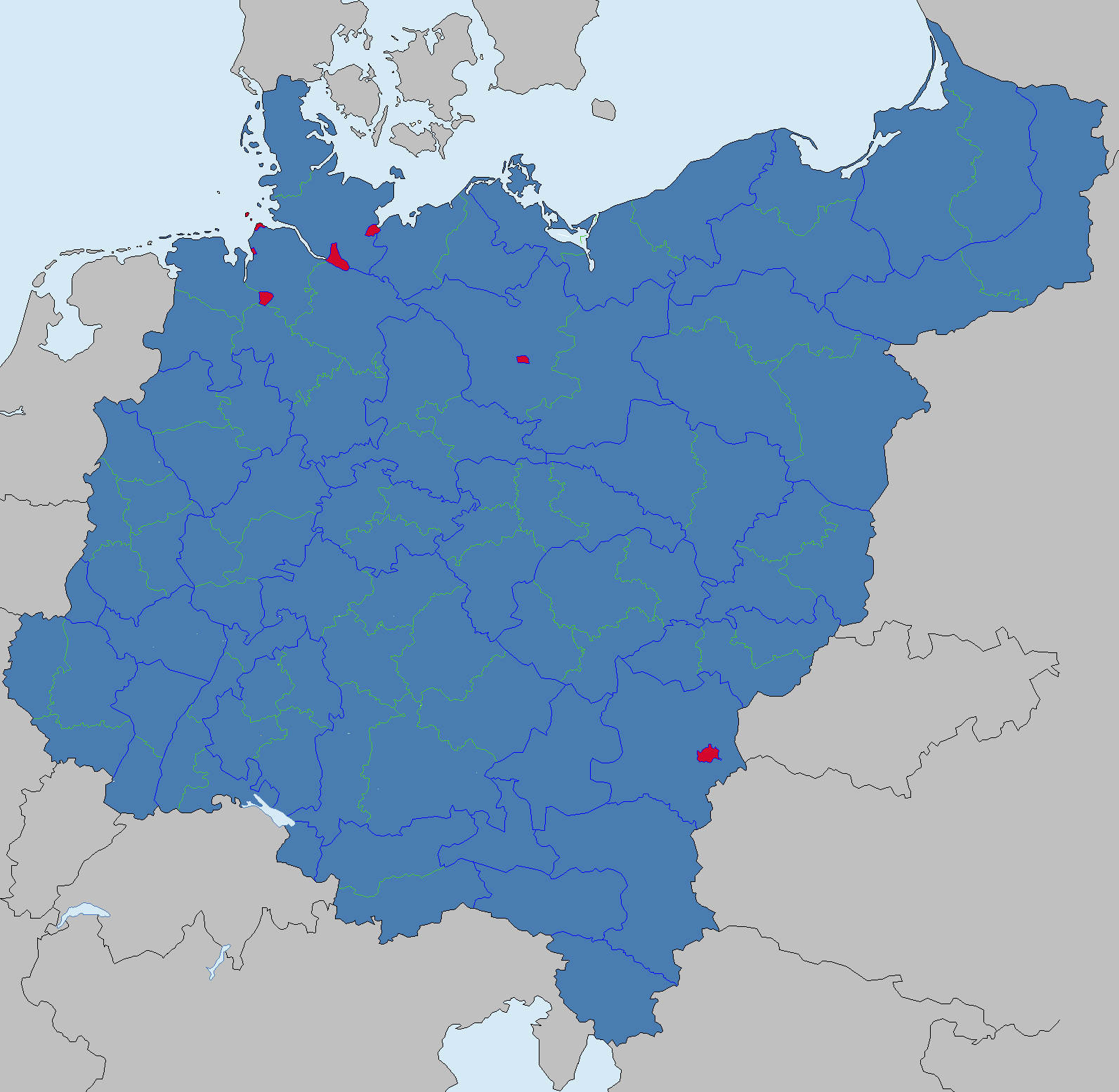 Location map Germany2