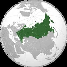 Location of Federation of Socialist Republics