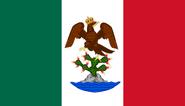 Bandera del Primer Imperio Mexicano