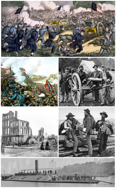 American Civil War (The Golden Republic)